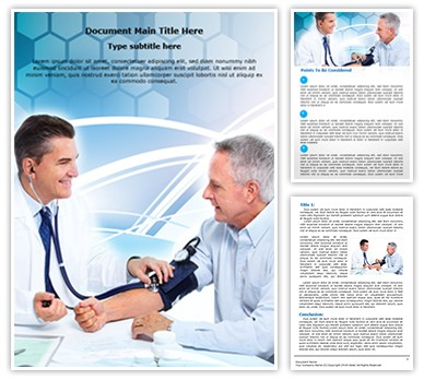 Doctor and patient Editable Word Document Template