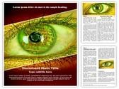 Bionic Eye Editable Word Template