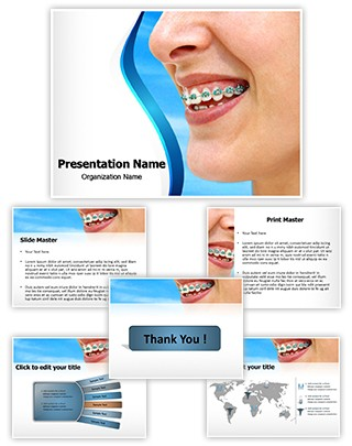 Braces Editable PowerPoint Template
