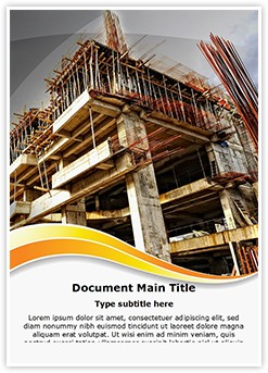Construction Editable Word Template