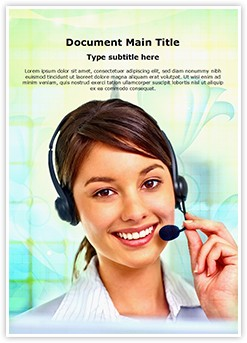 Customer Support Editable Word Template