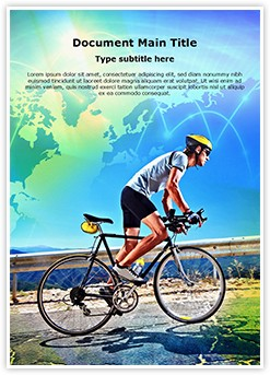 Cycling Editable Word Template