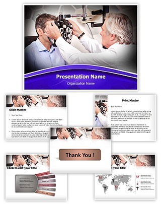 Ophthalmic Exam Editable PowerPoint Template