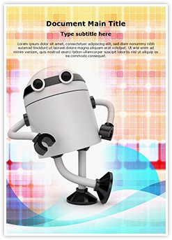 Android Technology Editable Word Template