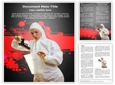 Forensic scientist Template