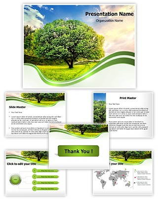 Nature Editable PowerPoint Template