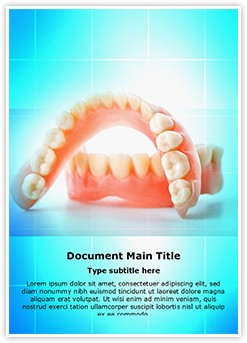 Dental Casting Editable Word Template