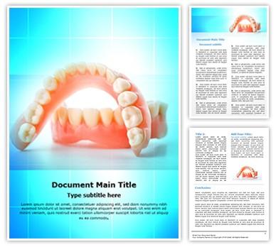 Dental Casting Editable Word Document Template