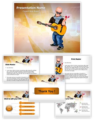 Dwarf Editable PowerPoint Template