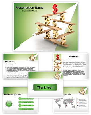 Financial Balance Editable PowerPoint Template