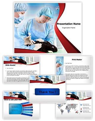 Veterinary Editable PowerPoint Template