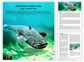 Catfish Editable Word Template
