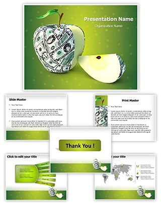 Health And Money Editable PowerPoint Template