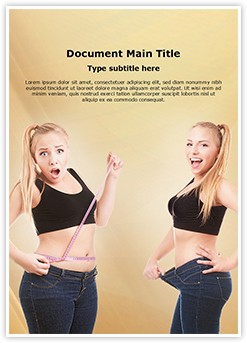 Weight loss Editable Word Template