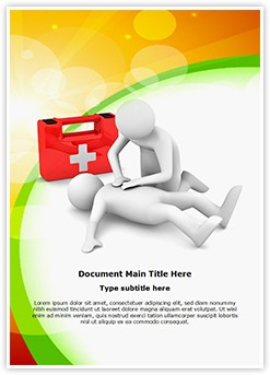 First Aid Editable Word Template