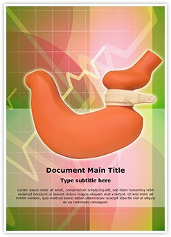 Gastric Band Editable Word Template