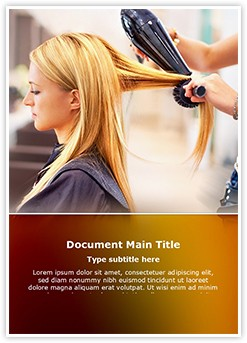 Hair Salon Editable Word Template