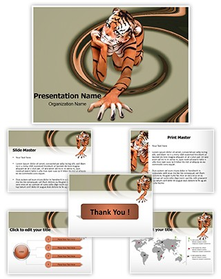 Body Art Editable PowerPoint Template