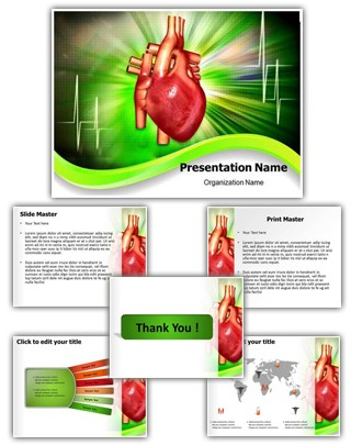 Cardiology Editable PowerPoint Template