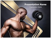 Fit Young Man PowerPoint Templates