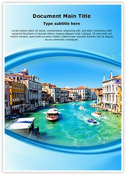 Italy Editable Word Template