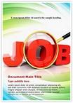 Jobs word