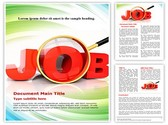 Jobs word Template