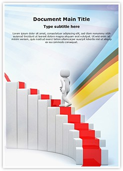Ladder of success Editable Word Template