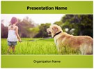Dog Free PowerPoint Template