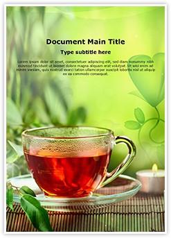 Herbal Tea Editable Word Template