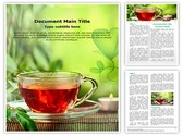 Herbal Tea Editable Word Template