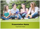 Students Free PowerPoint Template