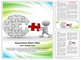 Last puzzle Piece Template