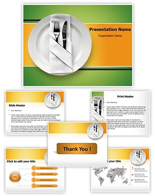 Table Setting Editable PowerPoint Template