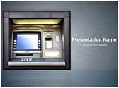 Automated Teller Machine Editable PowerPoint Template