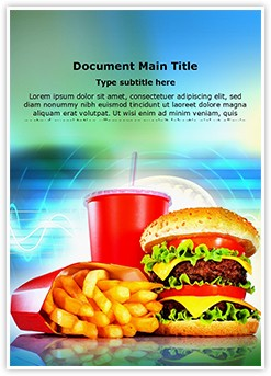 McDonald Editable Word Template