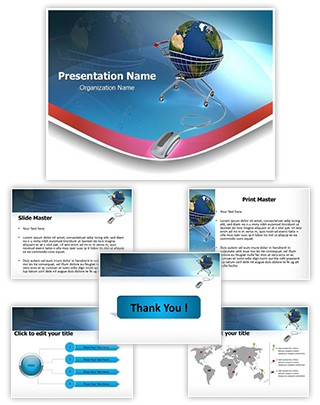 Global Shopping Editable PowerPoint Template