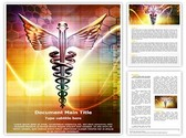 Medical logo design Editable Word Template