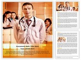 Medical professionals Editable Word Template