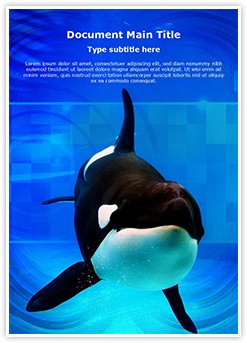 Orca Editable Word Template