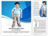 Obesity In Children Template