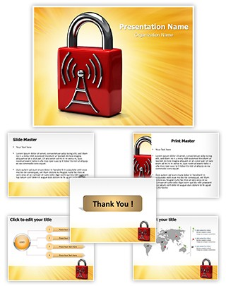 Wifi Security Editable PowerPoint Template