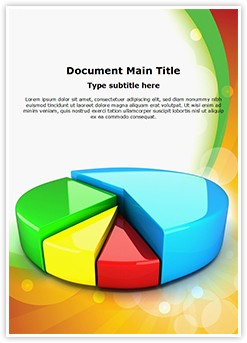 Pie Chart Editable Word Template