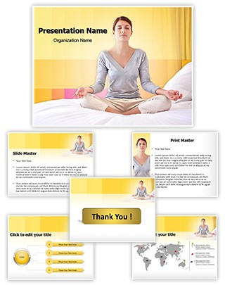 Yogatic Time Editable PowerPoint Template