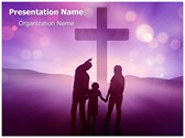 Christianity Christian Family Editable PowerPoint Template