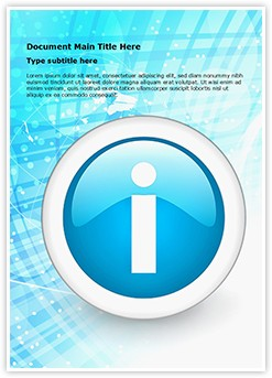Information Editable Word Template