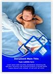 Newborn baby Word Templates