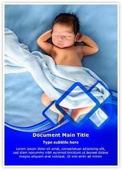 Newborn baby Editable Word Template