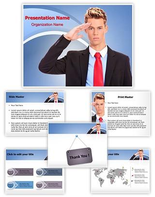 Salute Editable PowerPoint Template