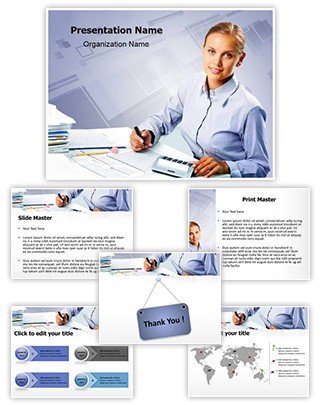 Accountant Editable PowerPoint Template